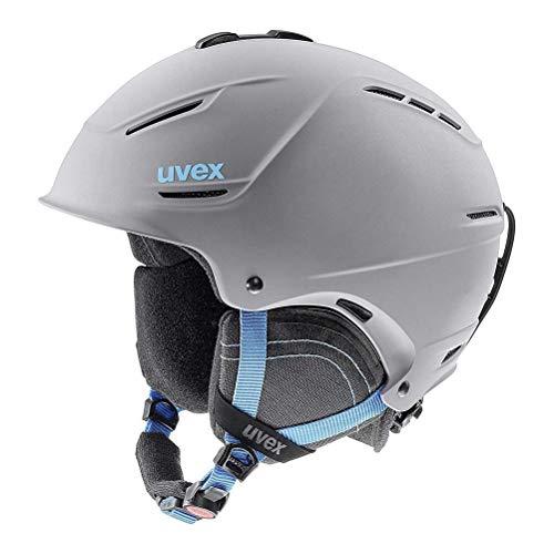 b1531688e Uvex P1us 2.0 Winter Sports/Ski Helmet - 566211 (Grey-Blue mat - 52-55)