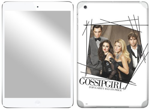 Zing Revolution Gossip Girl Premium Vinyl Adhesive Skin for iPad mini (ms-GGRL40389) (Gossip Girl Mini)