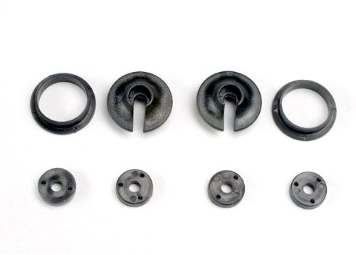 Traxxas 3768 Upper and Lower Spring Retainers and Piston Head Set (Traxxas Spring Retainers)