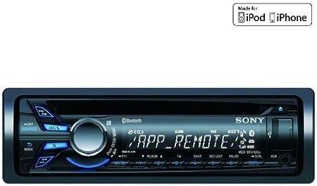 SONY Autorradio CD / MP3 / USB / iPod / Bluetooth MEX-BT3100U + Funda par frontal de autoradio EFA100: Amazon.es: Electrónica