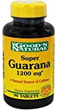 Good 'N Natural, Super Guarana 1200 mg, 90 Tablets