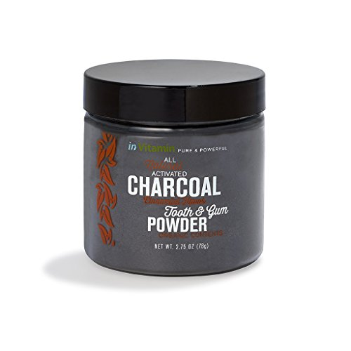 Natural Whitening Tooth & Gum Powder with Activated Charcoal, 2.75oz (*New Packaging and Flavors!*)