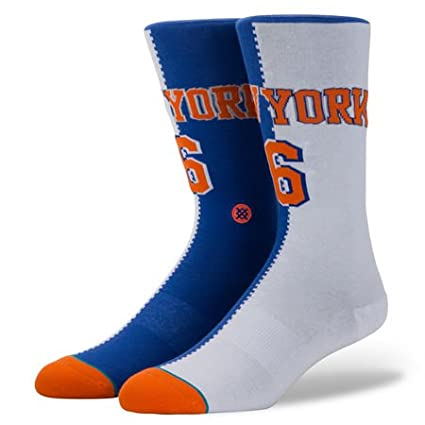 Stance Kristaps Porzingis New York Knicks Split Jersey NBA Socken M545A18POR