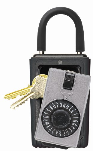 Kidde AccessPoint 001012 KeySafe Original 3-Key Portable, Spin Dial, Titanium Gray