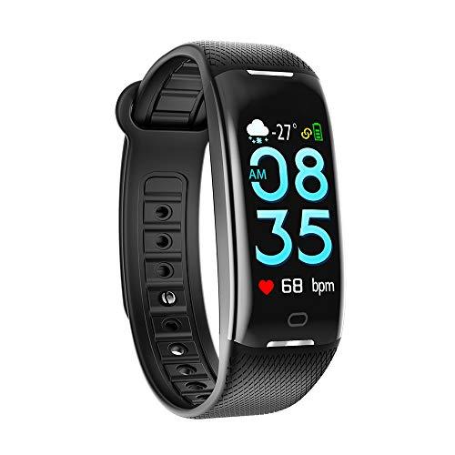 Activity Bracelet with Heart Rate Monitor, Waterproof Intelligent Clock  IP67, Cardiac Rhythm Monitors, GPS for Running
