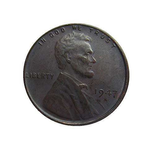 xingtingyu 1947 USA Lincoln Cents Coins Copy