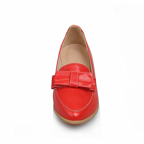 Carole Scarpe Archi Moda Donna Polsini Comfort Scarpe Casual A Punta Rossa