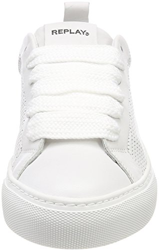 Replay Lapas Basses Blanc Sneakers Lapas Femme White Replay dnnqH8P