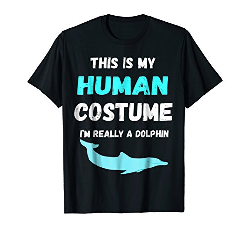 This is my Human Costume I'm really a Dolphin Ocean -