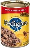 Pedigree Chopped Ground Dinner Dog Food – Beef – 22oz – 12pk – Beef – 22 oz