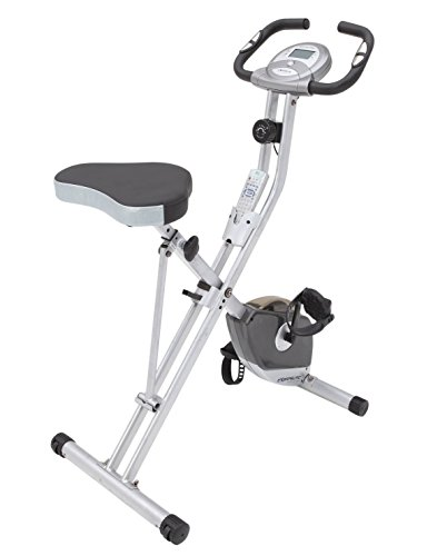 Exerpeutic Folding Magnetic Upright Bike with Pulse Exerpeutic