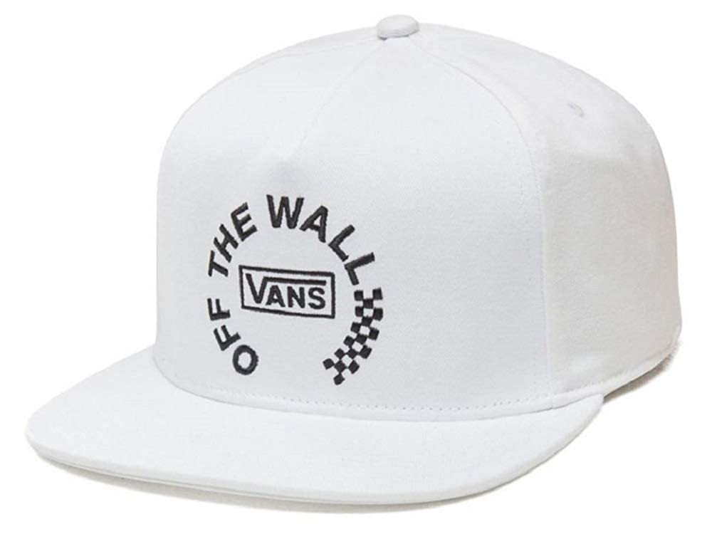Vans Mens Off The Wall Distort Adjustable Hat White OSFA ...