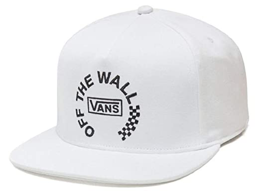 Vans Mens Off The Wall Distort Adjustable Hat White OSFA ...