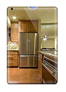 New Neutral Modern Kitchen With Wood Cabinetry Amp Stainless Steel Appliances Tpu Case Cover, Anti-scratch ZippyDoritEduard Phone Case For Ipad Mini/mini 2