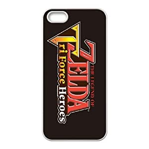 iPhone 4 4s Cell Phone Case White The Legend of ZeldaTri Force Heroes 010 Wmuwt