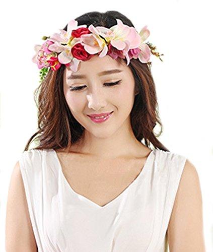 Fabric Flower Garland - 2