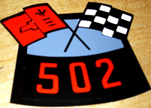 CHEVY 502 CI BIG-BLOCK CROSSED FLAGS AIR CLEANER TOP LID DECAL - STICKER - CHEVROLET ebook
