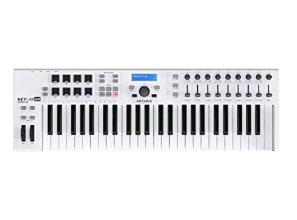 ARTURIA KEYLAB 61 BLACK EDITION KEYBOARD CONTROLLER DRIVER FOR PC