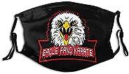 Eagle Fang Karate Face Bandana Cover Dust-Proof Bandanas Cotton Breathable Balaclavas