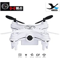 Boyiya Mini RC Quadcopter 2.4GHz 4CH 6-Axis Gyro 3D UFO Drone FPV with WIFI Nano Camera