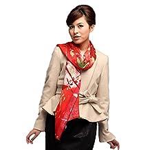 Grace Scarves 100% Ultrafine Wool Scarf, Oblong