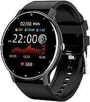 Zodvboz Relógio Inteligente Masculino Desportivo, IP67 à Prova d'água, Rastreador de Atividades com Monito