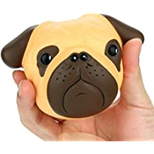 Toy gift, Auwer 8cm Exquisite Fun Crazy Dog Scented Squishy Charm Slow Rising Simulation Kid Toy