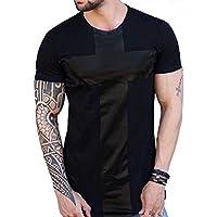 Camisa Longline Camiseta Oversized Blusa Masculina Swag