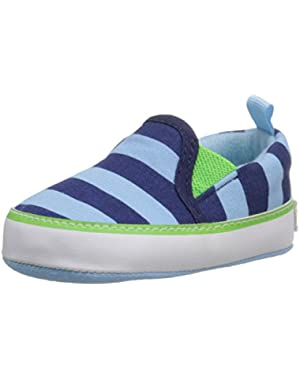 LT Blue Canvas Slip On Sneaker (Infant)