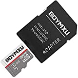 Micro SD Card 32GB,BOYMXU Tf Card with Adapter,High Speed Memory Card for Samsung Tablet.