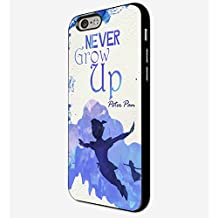 Disney Peter Pan Quote iPhone 6 Plus Case Black