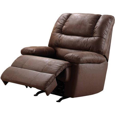 Better Homes and Gardens Rich microsuede upholstery Deluxe Recliner by Better Homes and Gardens