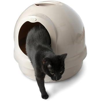 Petmate Booda Dome Litter Box, Titanium