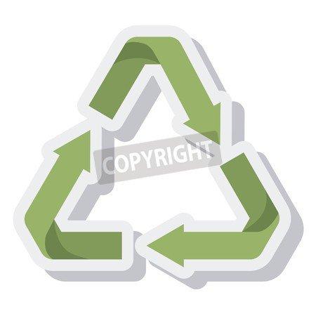adrium Arrows Recycle Símbolo isolated Icon Vector Ilustración ...