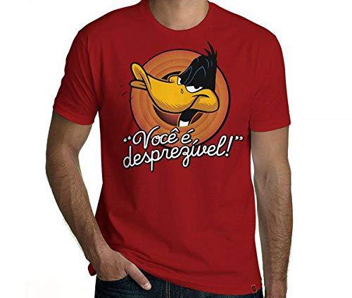 Camiseta Desprezível Cor:vermelho;tamanho:g