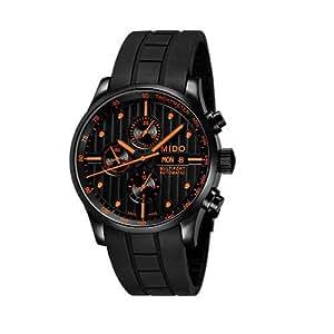 MIDO m005.614.37.051.01m0056143705101–Reloj de pulsera de hombre, correa de caucho color negro