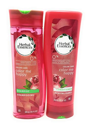 Clairol Herbal Essence Herbal Shampoo - Herbal Essences Color Me Happy Shampoo & Conditioner Set (10.1 Fl Oz Ea)