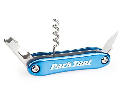 Park Tool Corkscrew Bottle Opener Blue, One Size