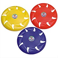 KITSAWS Sports Flying Disc Frisbee 8 Inches (Multicolour)