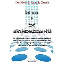 Droit, Humains & Société en réformation sociétale, économique et digitale (French Edition)