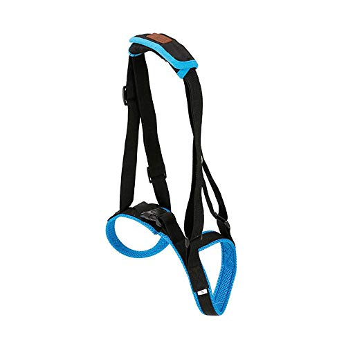 (Aolvo Dog Lift Rear Mobility Harness Support Harness, Medical Dog Rear Carrier, Approved Dog Lift Support Harness Canine Aid. Lifting Older K9 Handle Injuries, Arthritis Weak Hind Legs & Joints)