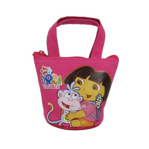 - Officially Licensed Dora the Explorer Mini Handbag Style Coin Purse - Dora and Boots