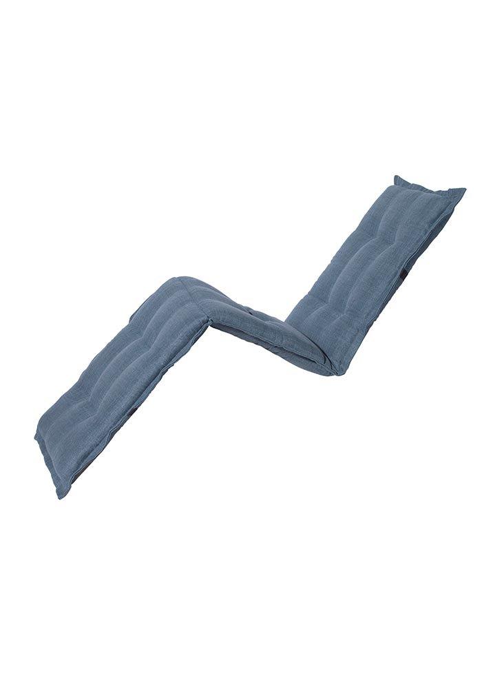 Madison - Gartenliegenauflage - Melange premium ice blau waterproof