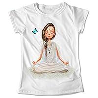 Blusa Namaste Yoga Playera Estampado Colores #255