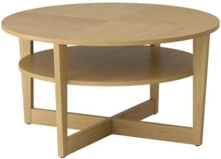 Table chêne cm Ikea BassePlacage 90 Vejmon cuKF3l1JT