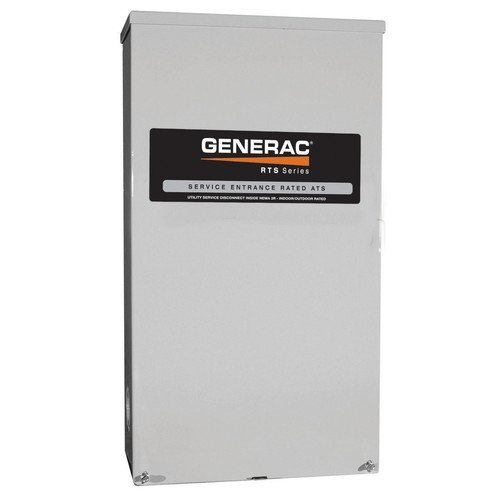 - Generac RTS Automatic Generator Transfer Switch - 100 Amp, 120/240 Volts, 3 Phase, Type N, Model# RTSN100J3