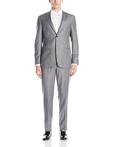 Notch Lapel Wool Suit - 9