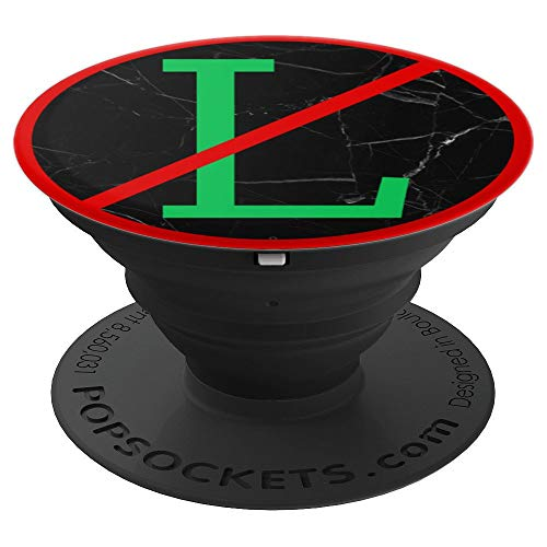 (Funny Noelle Noel No L Red Circle Line Through Xmas Marble - PopSockets Grip and Stand for Phones and Tablets)