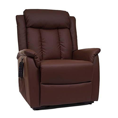 Perfect Comfort Infinite Position Lift Chair Recliner Designed by Golden Technologies for SpinLife, Mocha