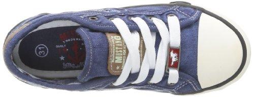 Mustang5803-305-841 - Zapatillas Niños-Niñas Azul (841 Jeansblau)
